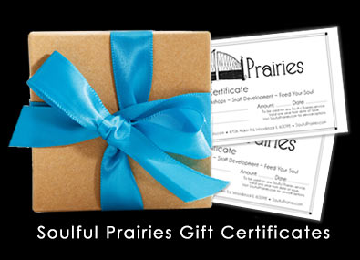 Soulful Prairies Gift Certificates