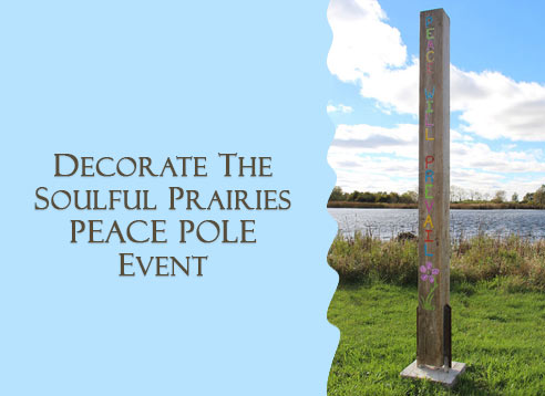 Decorate Peace Pole