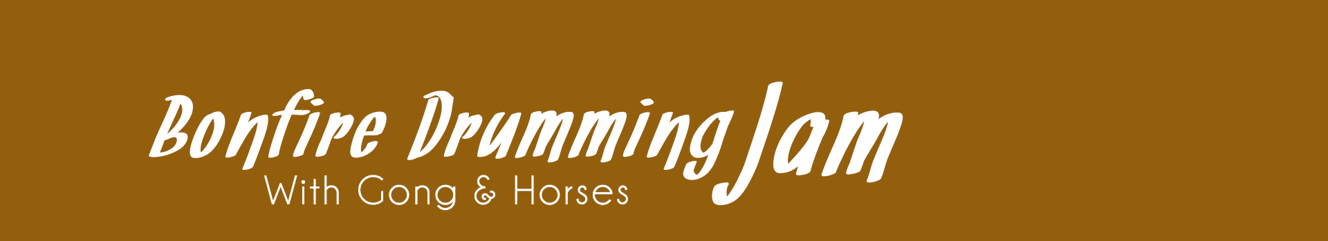 Drumming - Gong - Horses Banner
